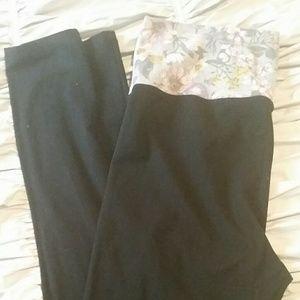 2 pair of VS leggings